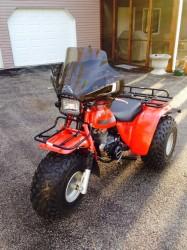 wheeled ATV